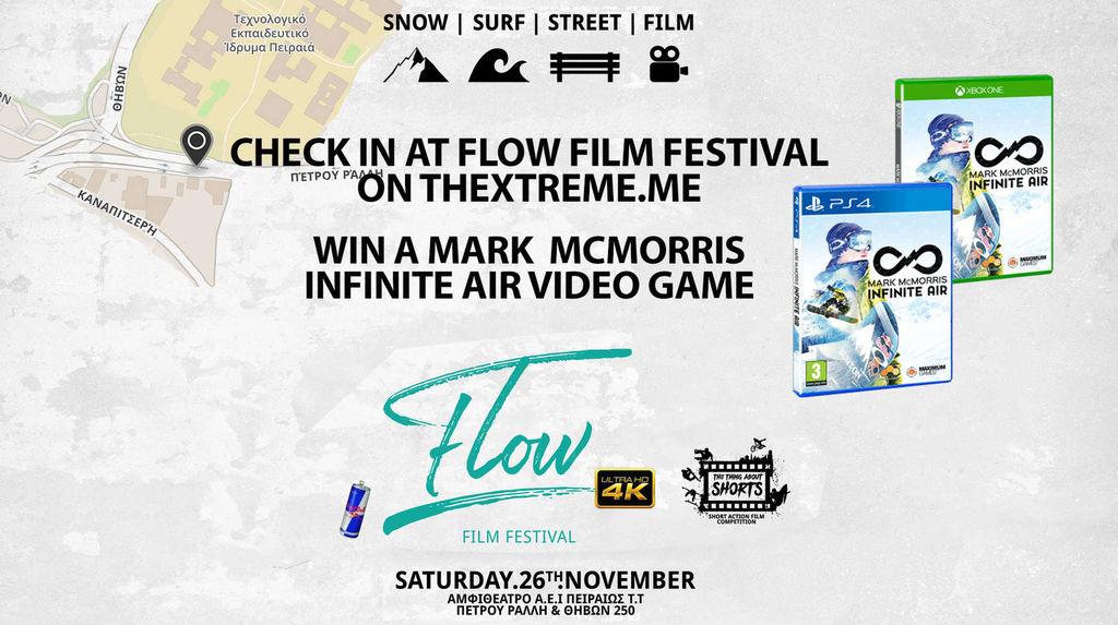 Flow film fest check in
